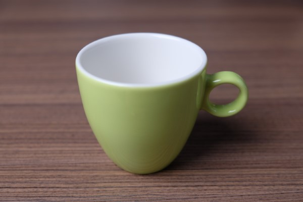 Apple koffietas 190ml lichtgroen
