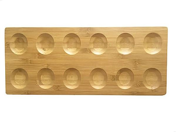 Cookplay Jomon Line bamboo tray 52x22x1cm