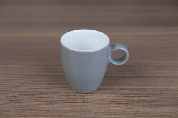Apple espressotas 65ml lichtgrijs