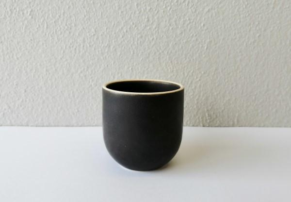 Molde edge Black bowl/cup D55-H60mm
