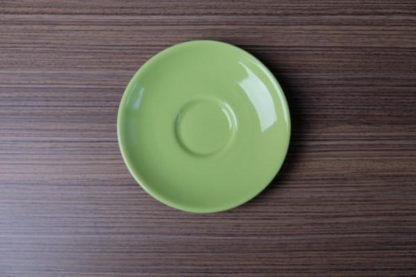 Apple ondertas voor espressotas lichtgroen