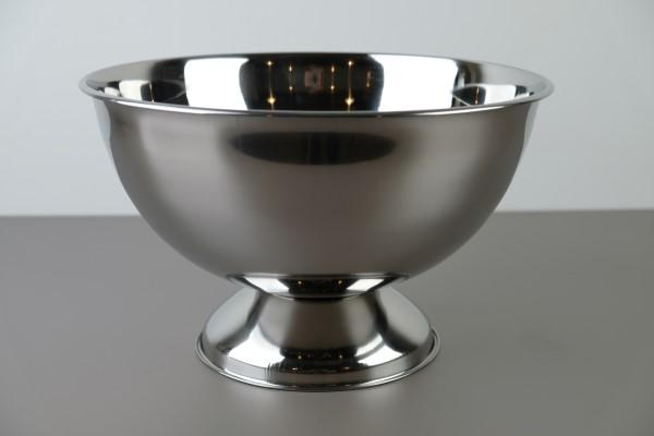 Punch/champagne bowl inox