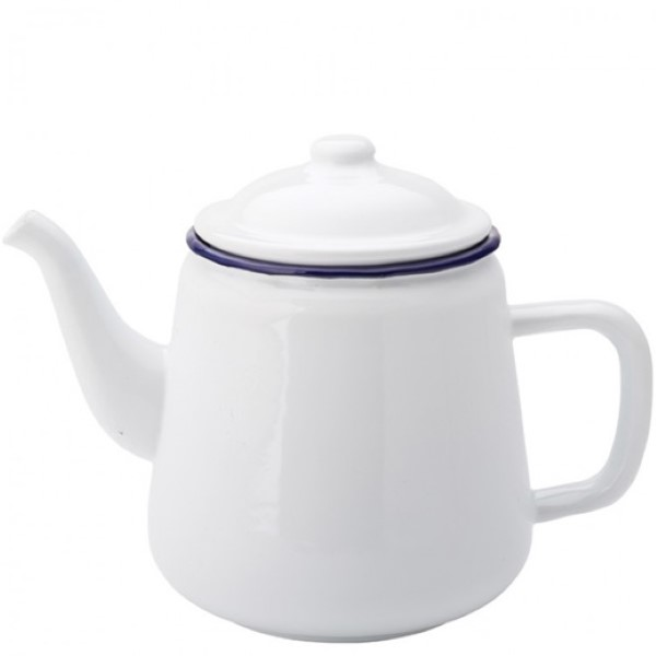 Eagle blue emaille koffie/theepot