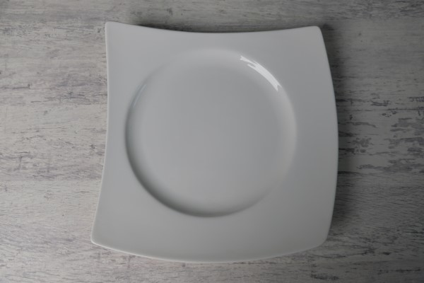 Papillon Vierro vierkant bord