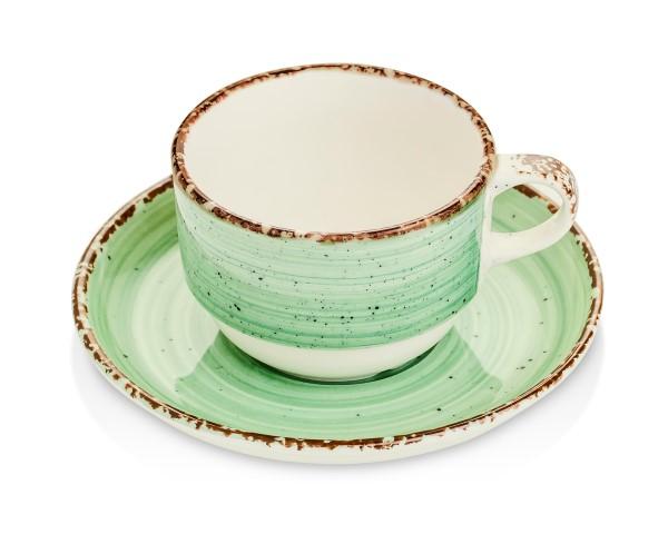 Gural Ent groen tas en ondertas 170ml