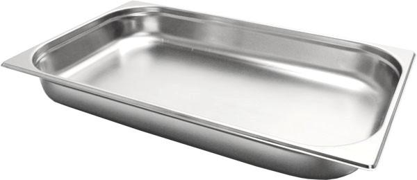 Gastronormbak inox 18/8 - 1/1 - 20mm
