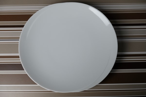 Papillon White Luxury plat bord