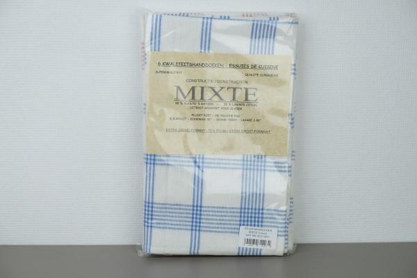 Handdoek 52% vlaslinnen-48%katoen