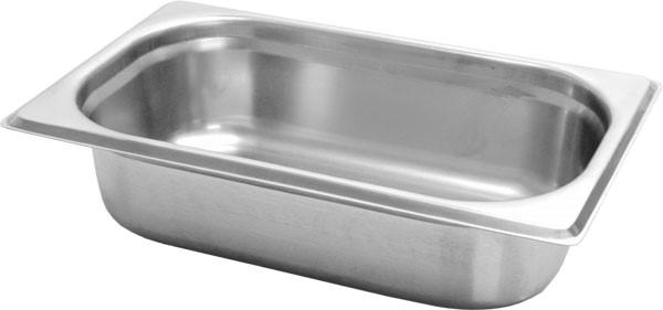 Gastronormbak inox 18/8 - 1/4 - 65mm